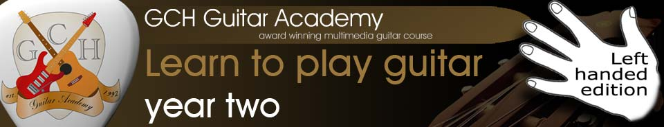GCH Guitar Academy, free online guitar lessons from the complete 3 year guitar course